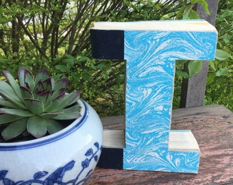 "Decorative Book ""I"""