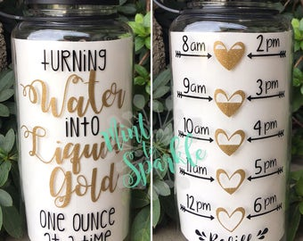 Turning water into liquid gold one ounce at a time motivational breastfeeding waterbottle