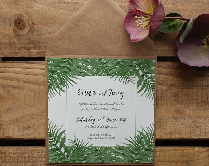 Featured listing image: CATALINA // Wedding Stationery // Invitation