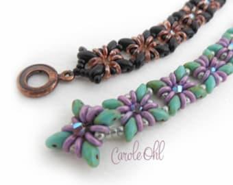 Fiesto Bracelet Tutorial by Carole Ohl