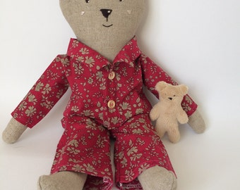 Handmade Cloth Bear