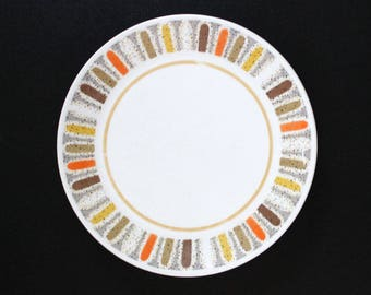 Mardi Gras. Vintage 1960s Noritake bread and butter plate.
