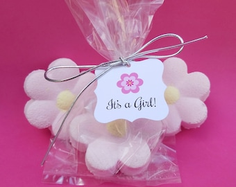 Baby Shower Favors! Bath Bomb Daisies Baby Shower Favors, Personalized Baby Shower Favors, Handmade Baby Shower Favors, Choose your Color