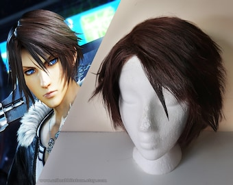 WIG Squall Leonheart From Final Fantasi VIII / Dissidia [ Cosplay,costume,videogame ]
