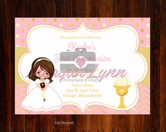 First Communion Invitation *DIGTAL*