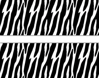 Beautiful ZEBRA ANIMAL PRINT Wallpaper Border Wall Decal Teen Girl Boy Room Baby  Jungle Nursery Kids Safari