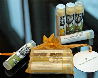 Lip Balm from wild beehives - variety pack