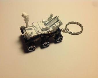 MARS ROVER CURISITY Keychain,Keyring (Hot wheels)