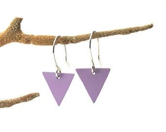 Lil bunting earrings / lavender