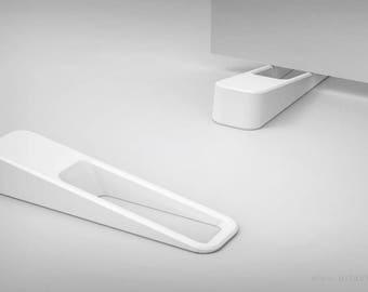 White Designer Door stopper wedge - 3d Printed