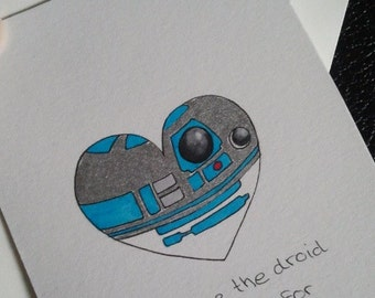 Star Wars Valentines Love Card