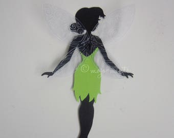 Fairy Die Cuts - Pack of 10 - Assembled and Ready To add Straight On To Your Projects