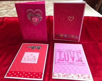 Valentine cards for her, blank inside