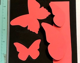 Sizzix Stampin Up Beautiful Butterflies Bigz Die - Cleaned and Tested