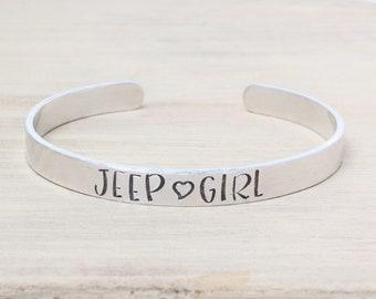 Jeep Girl Bracelet - Jeep Jewelry - Jeep Bracelet