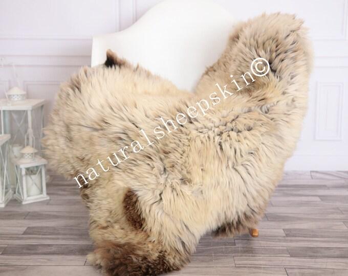 Sheepskin Rug   Real Sheepskin Rug   Shaggy Rug   Scandinavian Rug     SCANDINAVIAN DECOR   beige Sheepskin  #FEBHER12