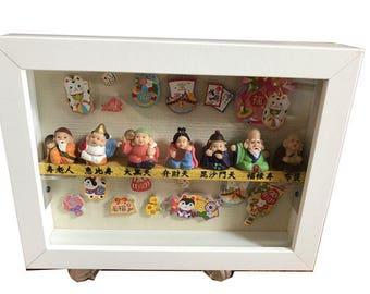 Handmade 7 gods Japanese Home Decor