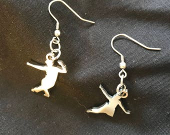 EARRINGS LINDY / SWING Dance Couples earrings  Male Lead and Female Follow Fig.#1