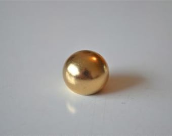 A brass antique style ball finial 16mm RR3