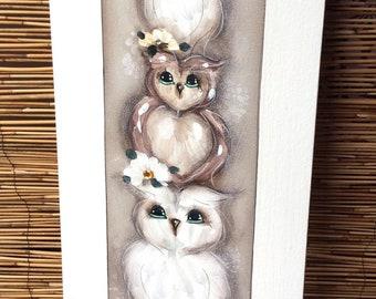 Family large owl family .
