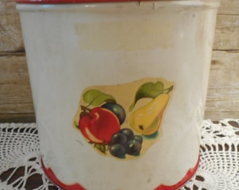 40's Kitchen Canister