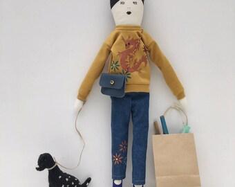 Mariko, a limited edition doll