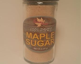 100% Pure Maple Sugar - 1.5 Glass Shaker