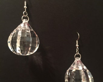 New Year's Eve NYE Crystal Drop Earrings