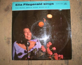 The Irving Berlin Songbook Vol 2 Vinyl LP Album,Ella Fitzgerald,1958 Original Pressing,Near Mint Condition,CLP 1184,Jazz