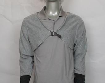 Grey Wolf Crop Top