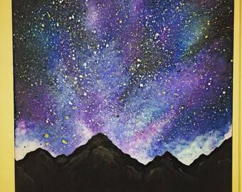 Galaxy Mountains
