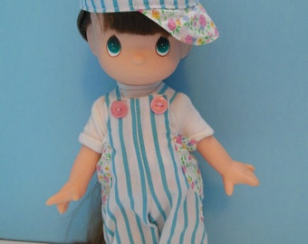 Precious Moments 1992 Brown Haired Doll