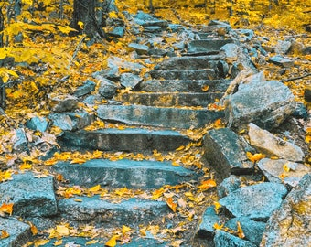 Stairway to Heaven - Canvas Print - 17x13