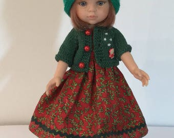 Clothes Christmas sweetheart doll and Doll Paola Reina