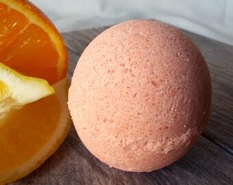 All Natural Sweet Citrus Bath Bomb