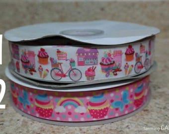 """1"""" Cupcake Ribbon"""