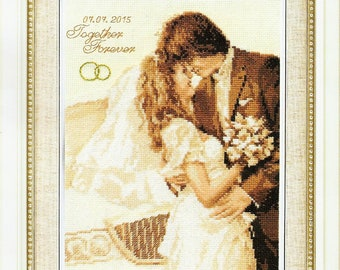 Cross Stitch Kit Together Forever art. 4-15