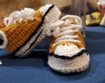 Baby Shoes Converse Style