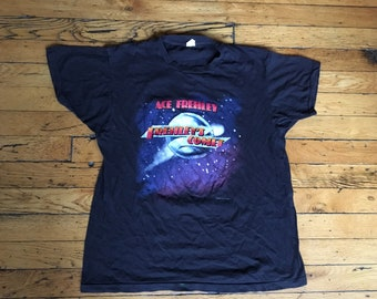1987 Ace Frehley Frehley's Comet t shirt USA xl