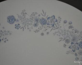 Pair Wedgwood Belle Fleur Plates