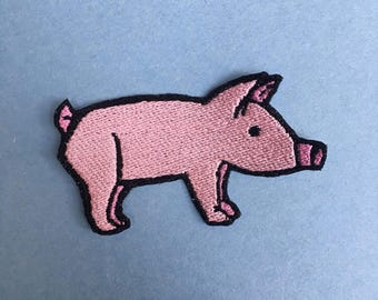 Piggy Iron-on Patch