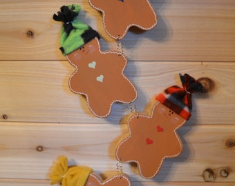 Personalized Family Gingerbread Men
