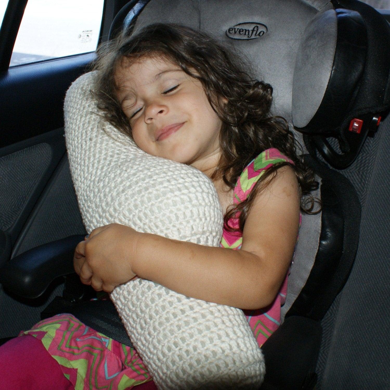 Crochet Pattern-- Seat Belt Travel Pillow --Crochet Pattern from ...