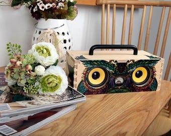 Owl [INTERMONO WoW Art - DIY Bluetooth Speaker]