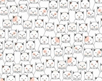 Dear Stella - Feline Myself Collection - Cattitude in Cream