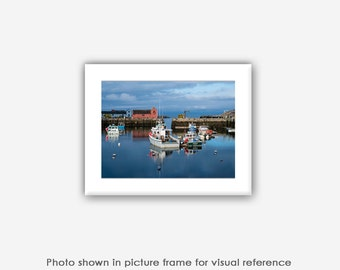 Motif No.1, Rockport Harbor Photograph, New England Landscape Photography Card Sets