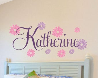 More Colors. Nursery Wall Decals Baby Girl ...