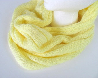 On Sale Banana Yellow Cowl Scarf Free US Shipping