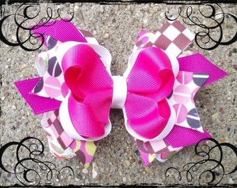 How to Make Boutique Hair Bows and Start a Business PDF tutorial ebook Plus Video