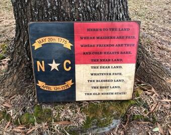 North Carolina State toast